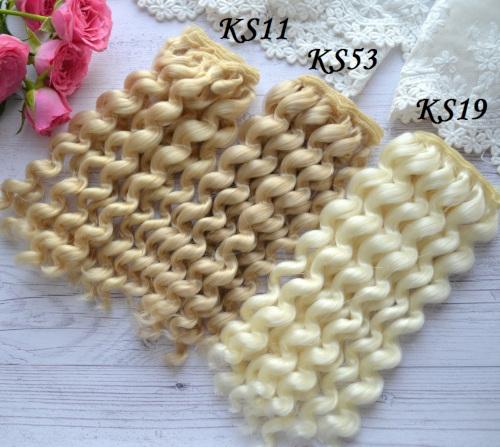 Волосы для кукол KS19 • VKS11 1