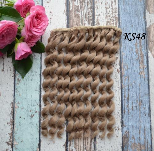Волосы для кукол Кудряшки KS48