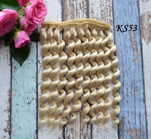 Волосы для кукол KS53 • VKS53