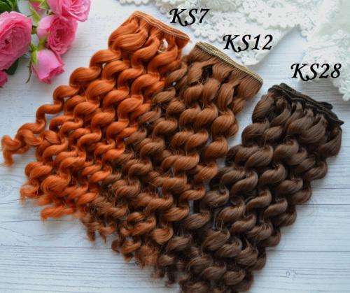 Волосы для кукол KS12 • VKS7 1