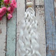 Волосы для кукол волнистые KT01