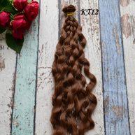 Волосы для кукол волнистые KT12