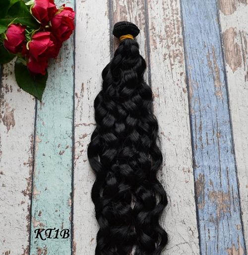 Волосы для кукол волнистые KT1B