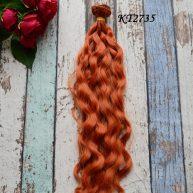 Волосы для кукол волнистые KT2735
