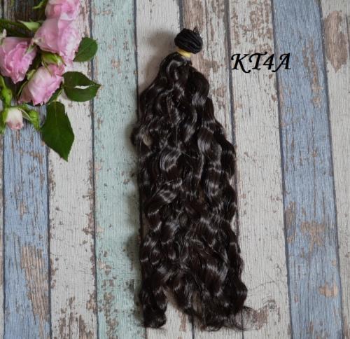 Волосы для кукол волнистые KT4A