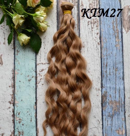 Волосы для кукол волнистые