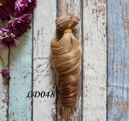 Волосы для кукол локоны LD048 • VLD048