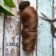Волосы для кукол локоны LD12