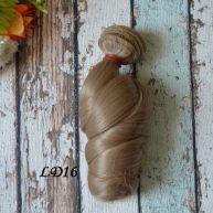 Волосы для кукол локоны LD16
