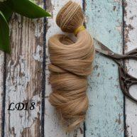 Волосы для кукол локоны LD18