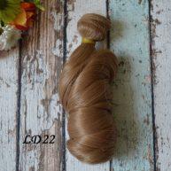 Волосы для кукол локоны LD22