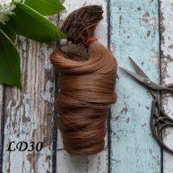 Волосы для кукол локоны LD30