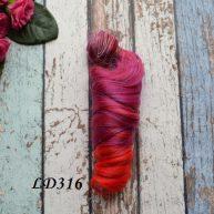 Волосы для кукол локоны LD316