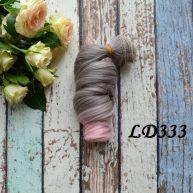 Волосы для кукол локоны LD333