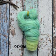Волосы для кукол локоны LD606