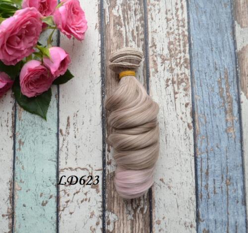 Волосы для кукол локоны LD623 • VLD623
