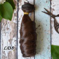 Волосы для кукол локоны LD8