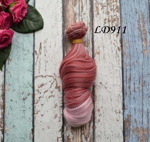 Искусственные волосы для кукол LD911