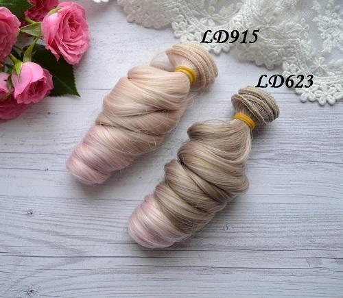 Волосы для кукол локоны LD623 • VLD915 1