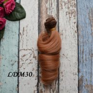 Волосы для кукол локоны LDM30