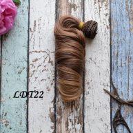 Волосы для кукол локоны LDT22