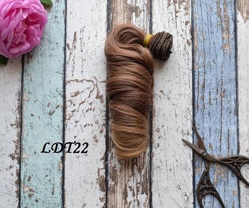 • Волосы для кукол. Длина волос 15 см, ширина треса 1 метр. Цена указана за 1 метр.