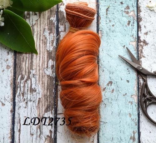 Волосы для кукол локоны LDT2735 • VLDT2735