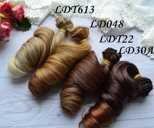 Волосы для кукол локоны LD048 • VLDT613 1