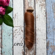 Волосы для кукол локоны LP12
