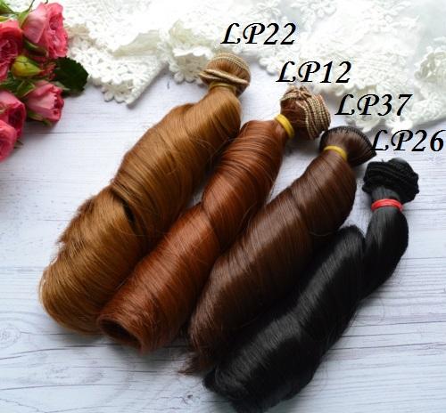 • Искусственные волосы для кукол. Для текстильных кукол Тильда, Барби и т.п. Длина волос 15 см, ширина треса 1 метр. Цена указана за 1 метр.