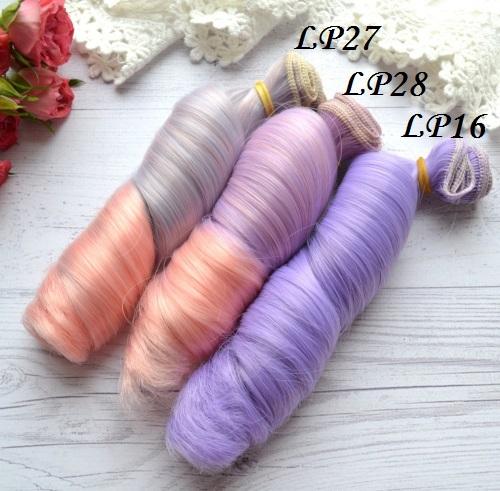 Волосы для кукол локоны LP16 • VLP27 1