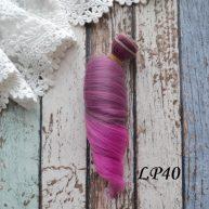 Волосы для кукол локоны LP40