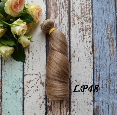 Волосы для кукол локоны LP48 • VLP48