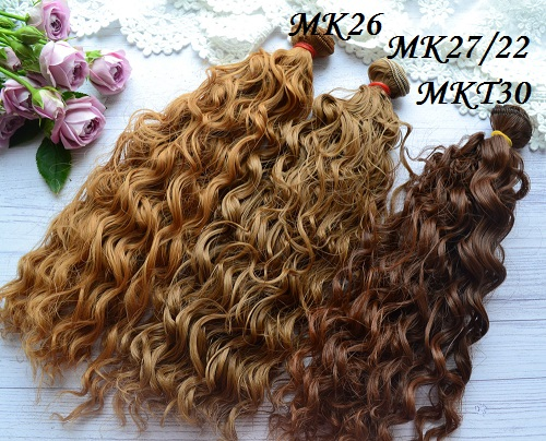 Волосы для кукол MK2722 • VMK26 1