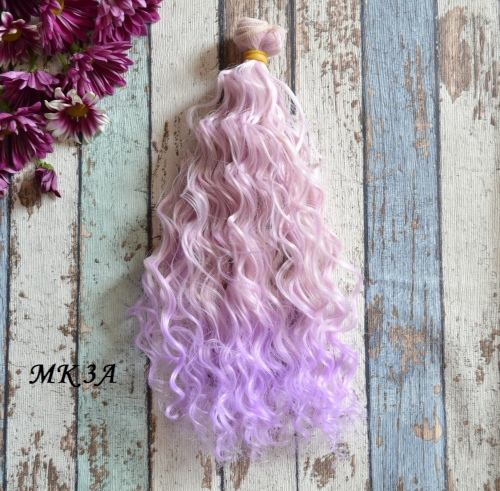 Волосы для кукол MK3A • VMK3A