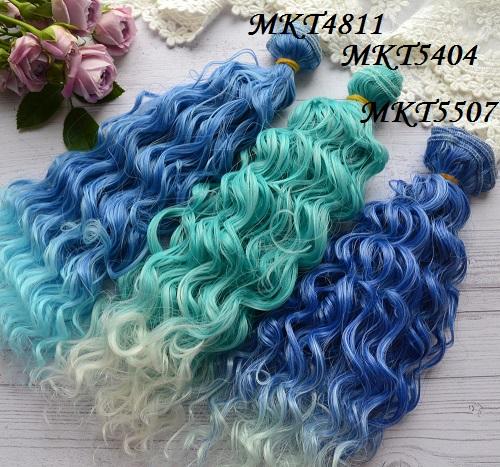 Волосы для кукол MKT5507 • VMKT4811 1