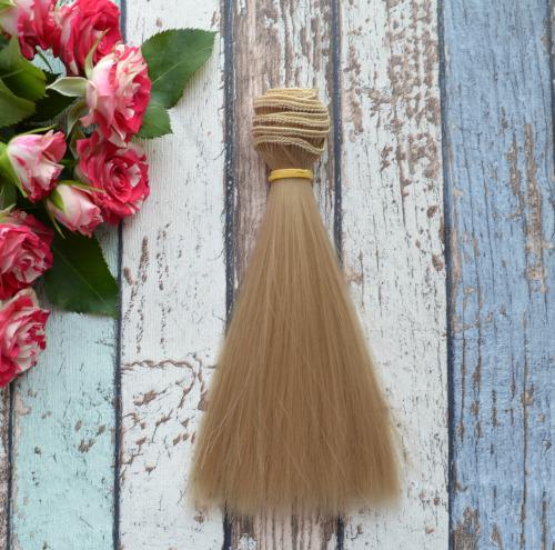 Волосы для кукол прямые N14 • VN14 15