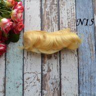 Волосы для кукол прямые N15