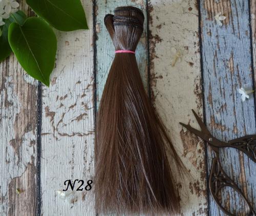 Волосы для кукол прямые N28 • VN28 15