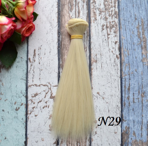 Волосы для кукол прямые N29 • VN29 15