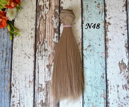 Волосы для кукол прямые N48 • VN48 15