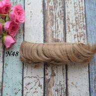 Волосы для кукол прямые N48