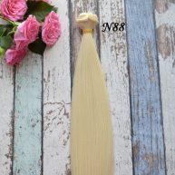 Волосы для кукол прямые N88