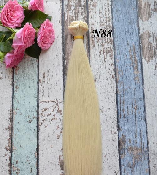 Волосы для кукол прямые N88 • VN88 25