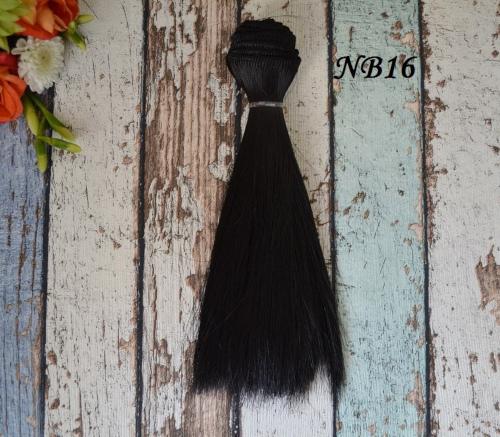 Волосы для кукол прямые NB16 • VNB16 15