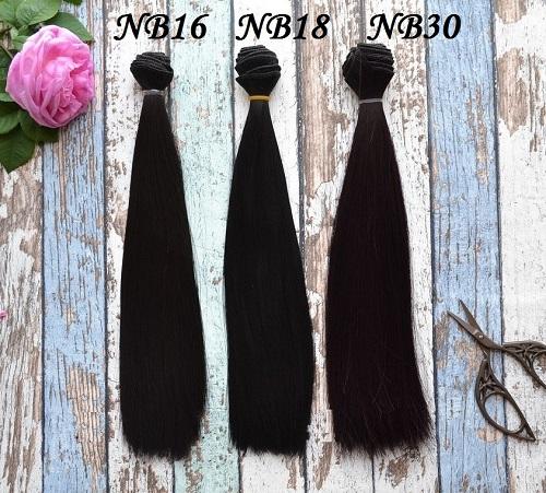 Волосы для кукол прямые NB30 • VNB16 3
