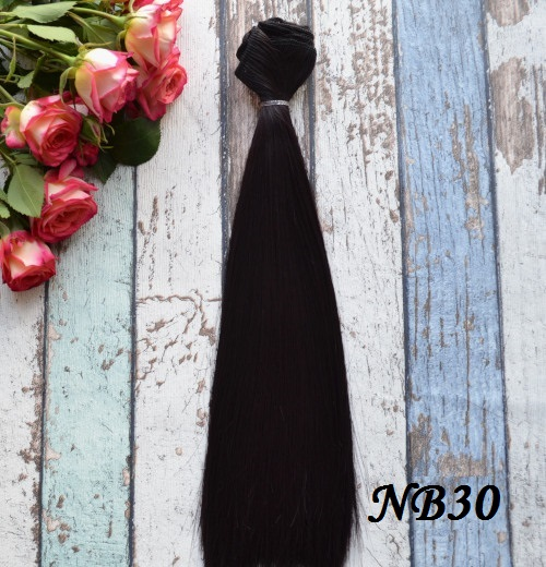 Волосы для кукол прямые NB30 • VNB30 25