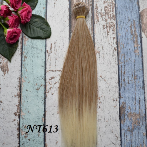Волосы для кукол прямые NT613 • VNT613 25
