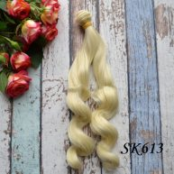 Искусственные волосы для кукол SK613
