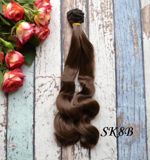 Волосы для кукол SK8B • VSK8B 25